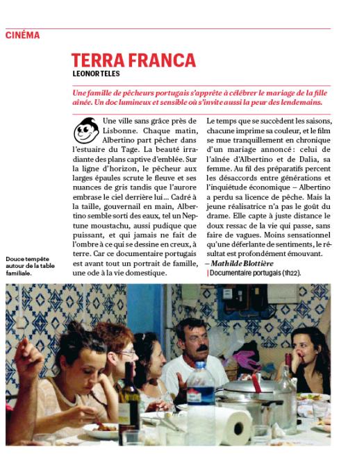 Terra franca_Télérama